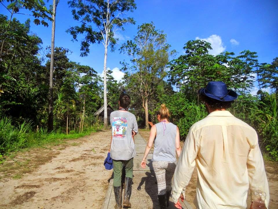 Por el camino de Centro América