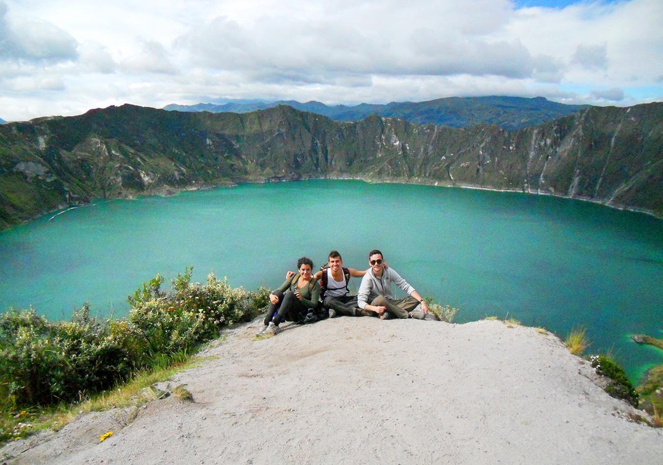 Circuito Quilotoa : Ecuador: baños u2013 latacunga u2013 quilotoa u2013 cotopaxi chika rutera